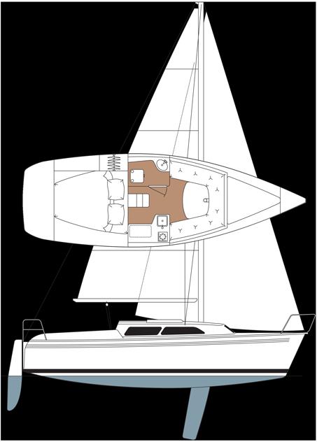 Catalina 250 CB