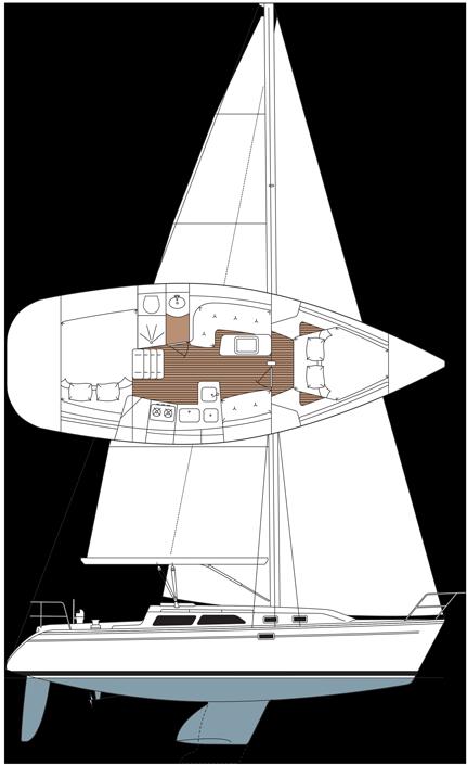 Catalina 310 MKII